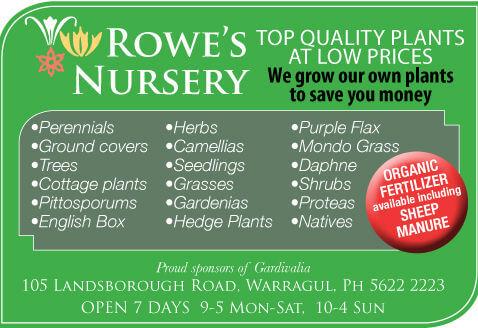 rowes nursery